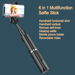 Image 5 - אלחוטי Bluetooth Selfie מקל מתקפל מיני חצובה להרחבה חדרגל עם Bluetooth מרחוק עבור IOS אנדרואיד טלפונים חצובה