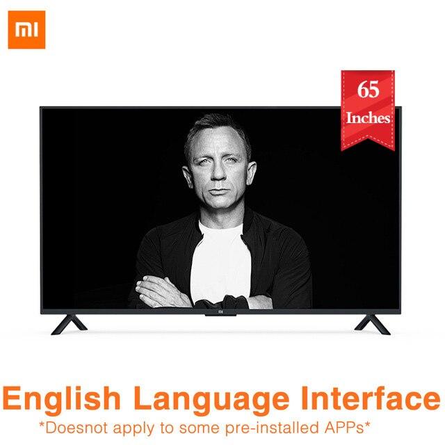Xiaomi TV 4A 65 pouces 4K HDR 3840*2160 Intelligence artificielle voix TV Bluetooth voix télécommande TV