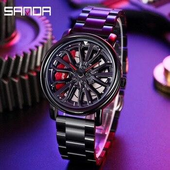 Sanda Sport Quartz Wrist Watch