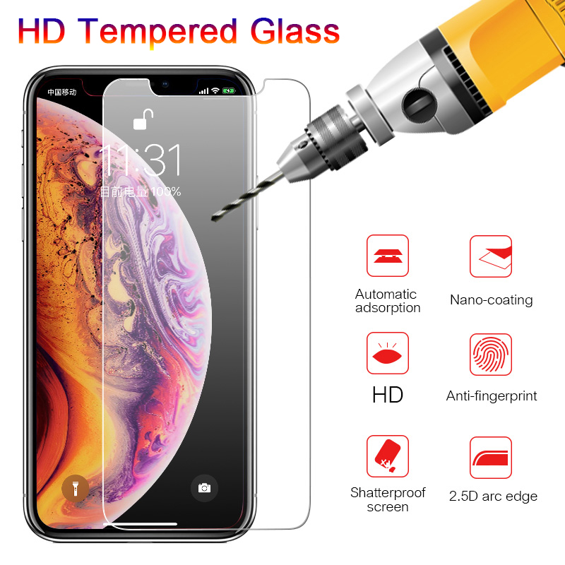 Tempered-Glass Se 8-X-Screen-Protector iPhone 7 8-Plus 6S for 7-5 6/6s/8-plus/..