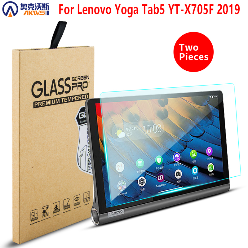Tempered Glass Case Screen Protector For Lenovo Yoga Tab5 Tab 5 YT-X705F Film Scratch Proof Protective Screen
