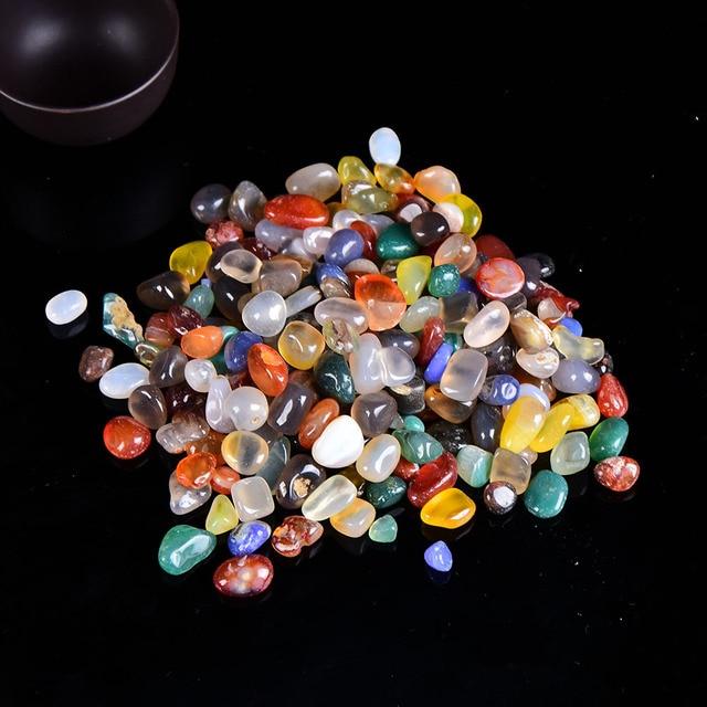 Natural Crystal Rose Quartz Ore Mineral Specimen Healing Stone Natural Colorful Quartz for Aquarium Stone Home Decoration DIY 2