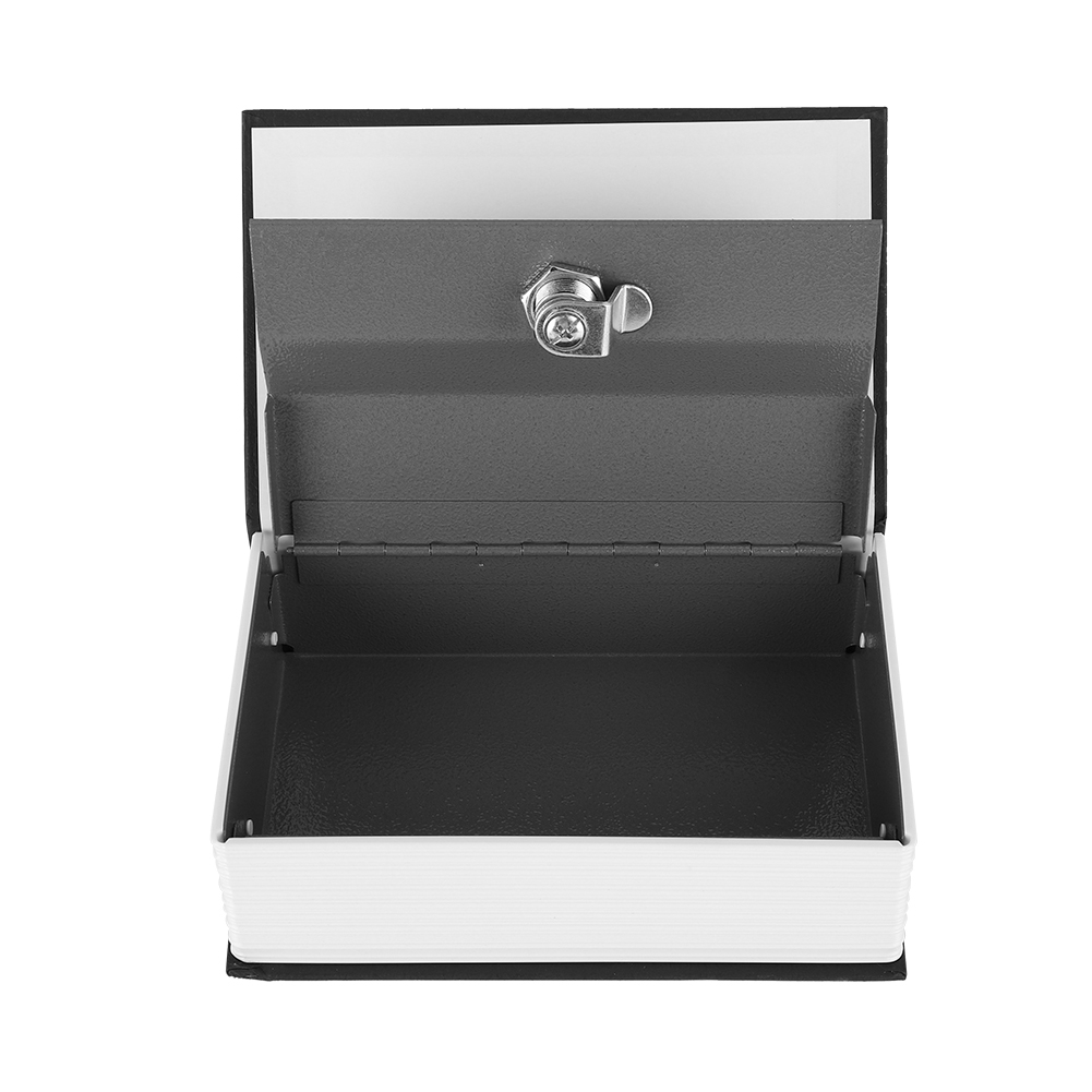 'PromoteStorage-Case Safe-Box Money-Jewelry with 2-Keys Simulation Appearance-Design English-Dictionary
