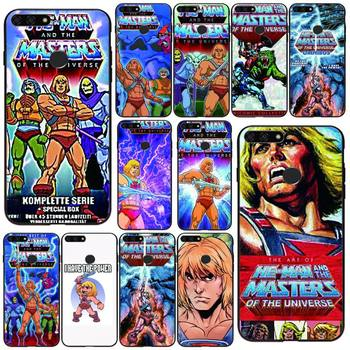 HE-MAN And The Masters Of The Universe Phone Case Black For Huawei Honor 7A/8X/9/9Lite/10/10Lite 9X 20 20S View30/30Pro Cases image