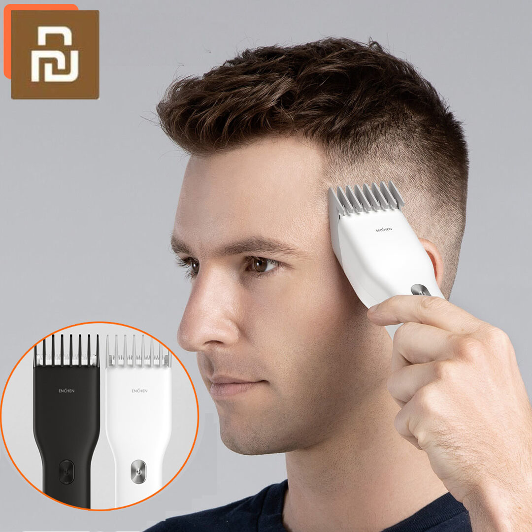 Xiami ENCHEN Boost USB Electric Hair Clipper Charging Hair Trimmer Children Clipper  2 Speed Ceramic Cutter Hair Cutting