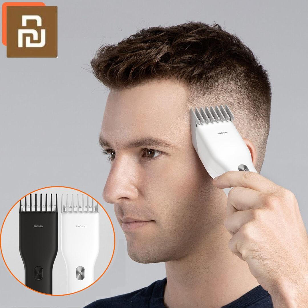 Xiami ENCHEN Boost USB Electric Hair Clipper Charging Hair Trimmer Children Clipper  2 Speed Ceramic Cutter Hair Cutting