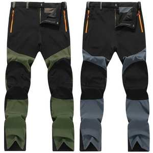 Climbing-Trousers Removable Long-Pants Hiking Outdoor Quick-Dry Plus-Size To 4XL Men