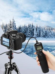 SHOOT Timer Camera Remote-Shutter D5000 Nikon D3100 D610 D3200 Digital MC-DC2 LCD