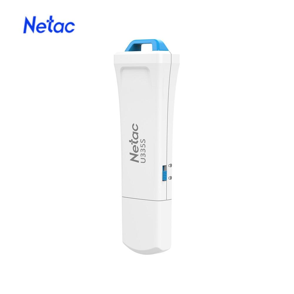 Netac U335S USB Flash Drive USB 3.0 Pendrive High Speed 64GB Key USB Stick Flash Memory USB Flash Disk Free Shipping
