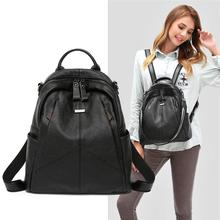 Fashion Women Backpack Genuine…