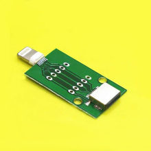 2pcs For iPhone5/6/7/8 male to female data cable test board test fixture PCB connection board(China)