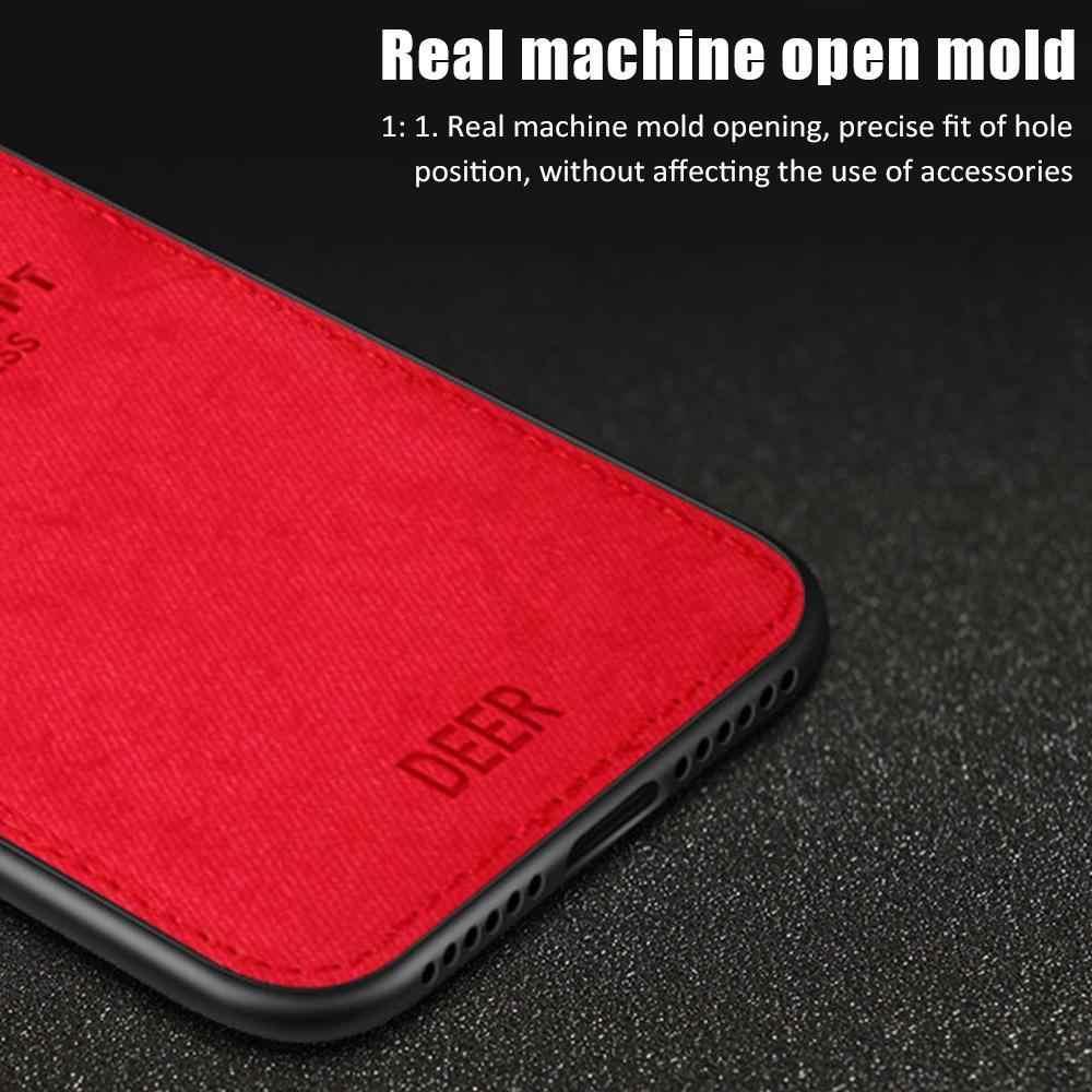 Schokbestendig Herten Doek Case Voor Xiaomi Redmi Note 9S 9Pro Max Note8T Zachte Rand Case Voor Redmi Note 8 7 6 Pro 8A 8 K20 Back Cover