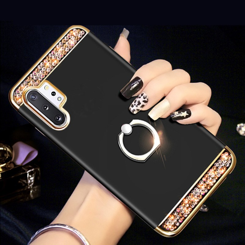 3 In 1 Hard Cover Phone Case For Samsung Galaxy Note 10 Plus 5 8 9 Case J4 J6 Plus A10 A20 S S20 A30S A51 A71 A50 A70 A40 Case