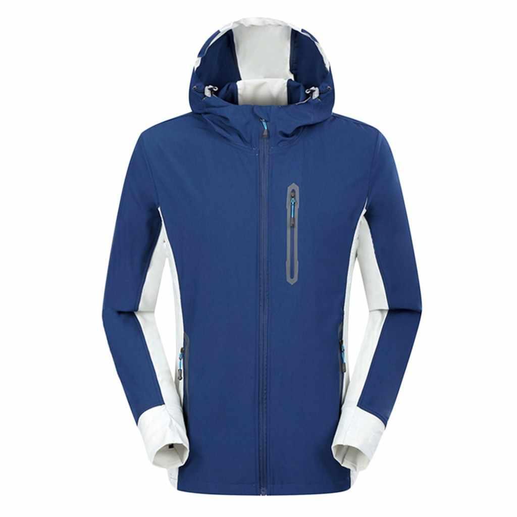 Modna kurtka mężczyźni zima z kapturem Softshell wiatroszczelne wodoodporne miękki płaszcz Shell kurtka hurtownia bezpłatny statku куртка мужская Z4