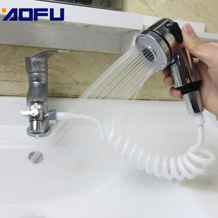 Купить душевая насадка для смесителя ванная комната спрей сливы шланг