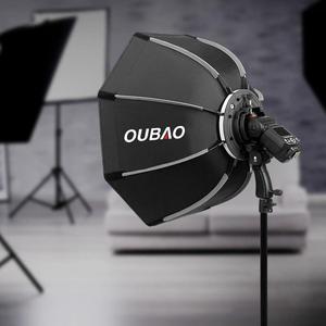 Image 5 - TRIOPO KS65 65CM אוקטגון אמברלה Softbox רך תיבת עבור Godox Speedlite פלאש אור צילום סטודיו אבזרים