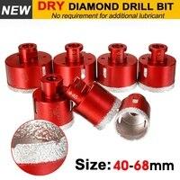 Vakuum Gelötete Diamant Bohren Core Bits 6mm-68mm M14 Verbindung Bohrer Loch Sah Granit Für Keramik fliesen Marmor Stein Glas