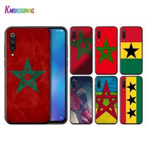 MA Maroc Morocco Flag Phone Case for Xiaomi Poco M2 Pro Mi 9 9T CC9 10 Lite 5G Pro Note 10 9 SE 8 A3 F1 Lite Matte Case(China)