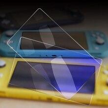 Закаленное стекло ультра прозрачное закаленное стекло экран белая защитная пленка защитная крышка для игровой консоли для переключателя Lite