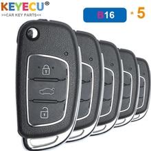 KEYECU 5PCS/Lot KEYDIY B Series B16 Universal Remote Control Key   3 Btns   for KD900 KD900+ URG200 KD X2 MINI KD Key Programmer