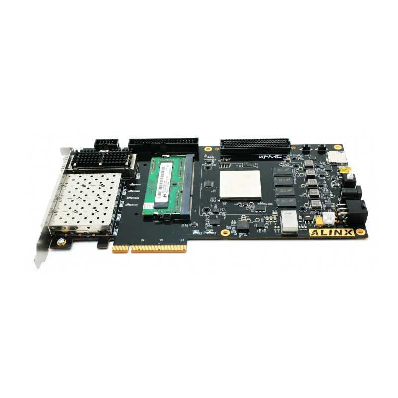 Alinx Xilinx FPGA Papan Pengembangan Kintex-7 K7 PCIe Accelerator Key AX 7325