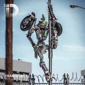 Image 4 - Dönüşüm MasterPiece TransCraft TC01 MXG 01 MXG01 Mahican Mohawk TLK Junkion deformasyon araba Robot aksiyon şekilli kalıp oyuncak