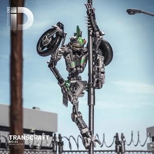 Image 4 - Transformation Meisterwerk TransCraft TC01 MXG 01 MXG01 Mahican Mohawk TLK Junkion Verformung Auto Robot Action figur Modell Spielzeug