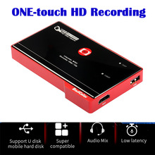 Mirabox HD Video Capture HDMI Signal zu USB Recorder One-touch HD Aufnahme Unterstützung HDCP 1,3 1080P @ 30Hz hd video game capture