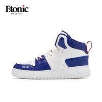 Etonic alta superior sapatos de basquete homem respirável almofada de ar tênis de basquete esportes ao ar livre sapatos de combate atlético botas