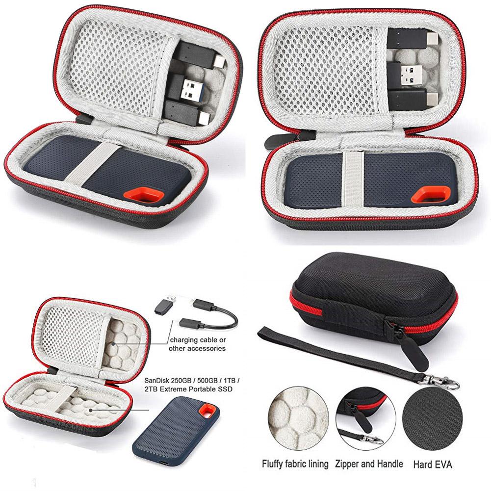 Hard Carry Case For SanDisk 500GB / 250GB / 1TB / 2TB Extreme Portable SSD Hot Gifts