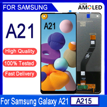 """6.5""""Original For Samsung Galaxy A21 Lcd A215 SM-A215U LCD Display Touch Screen Digitizer Assembly For samsung A21 lcd screen"""