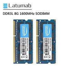 Latumab RAM DDR3L 8GB 16GB 32GB 1600MHz mémoire pour ordinateur portable PC3L-12800 mémoire SODIMM 1.35V mémoire pour ordinateur portable Module mémoire vive DDR3