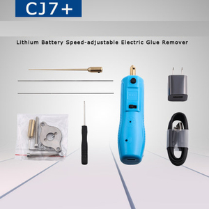 Image 2 - CJ7+ Electric Removal of Adhesive Rod LCD Screen Shovel Glue Tool Mobile Phone Remove OCA Glue Grinder With USB Connecter