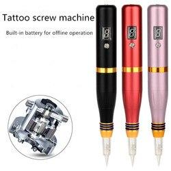 Semi-permanente tattoo machine ingebouwde batterij tattoo machine mist wenkbrauw machine bleken lip machine schoonheid lijn een machine