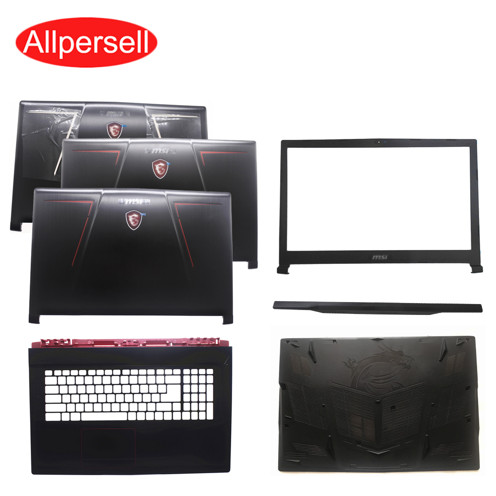 Laptop Case For MSI GE73 GE73VR MS-17C5 17C1 17C7 7RF-006CN Top Cover/ Screen Frame/palmrest Case/bottom Shell/Shaft Cover