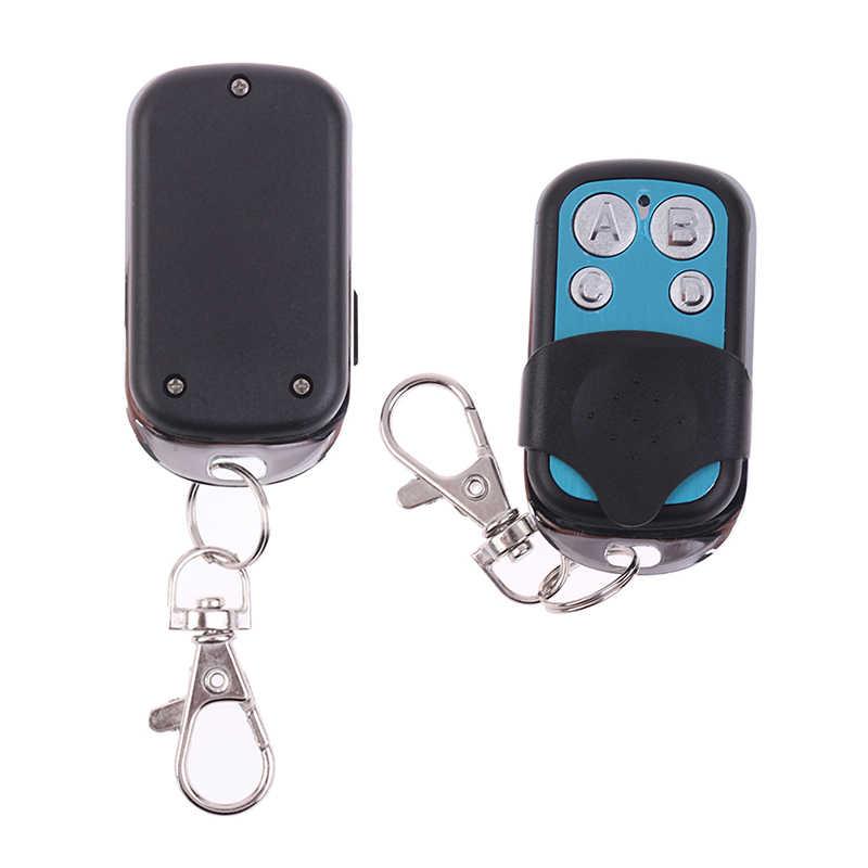 ABCD Senza Fili RF A Distanza 433 MHz di Controllo Elettronico Del Cancello Del Garage Door Remote Control Key Fob 1pc