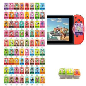 72pcs=1lot For Selected Hot Villagers of Animal Crossing Amiibo Cards Mini NFC Card New Horizons for Switch/Switch Lite/Wii U