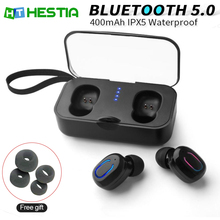 TWS  Bluetooth Earphones 5.0 Wireless Earphone Sports Earbuds PK i10/i12/i7 tws