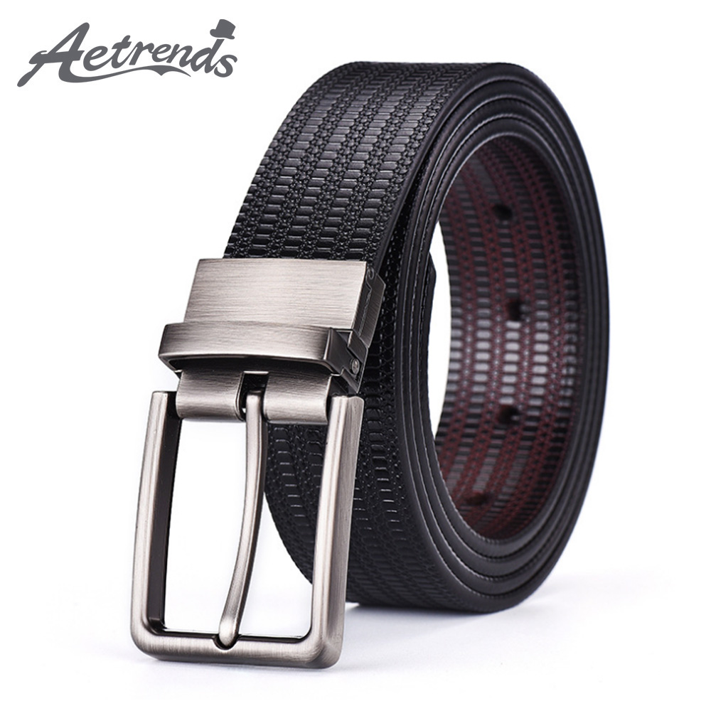 Business Plan Salle D Escalade details about [aetrends] men's leather belts with rotating buckle business  men belt d-0150
