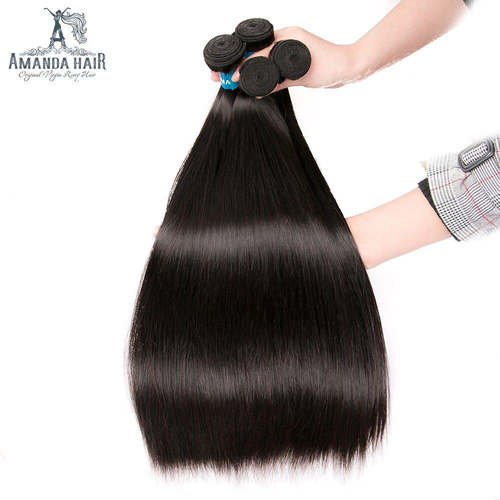 Amanda duplo desenhado cabelo humano peruano tecer