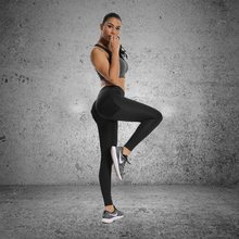 Женские Штаны Для Йоги, спортивная одежда для бега, эластичные леггинсы для фитнеса, бесшовные резинки с задними карманами, компрессионные колготки для спортзала