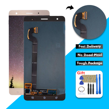 Free Shipping For ASUS Zenfone 3 Deluxe Z016D ZS570KL LCD Display Touch Screen Digitizer Glass Assembly + Tools