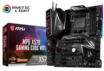 MPG X570 GAMING EDGE WIFI motherboard + R5 5600X/R7 5800X/R9 5900X CPU motherboard+CPU set