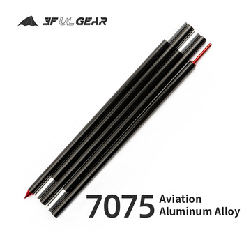 3F UL GEAR 19mm  Rod 2.4m 7075 Aviation Aluminum Alloy Foyer Pole 1