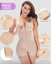 Корсет женский утягивающий с открытой промежностью, утягивающее белье для похудения, утягивающее белье для подтяжки ягодиц