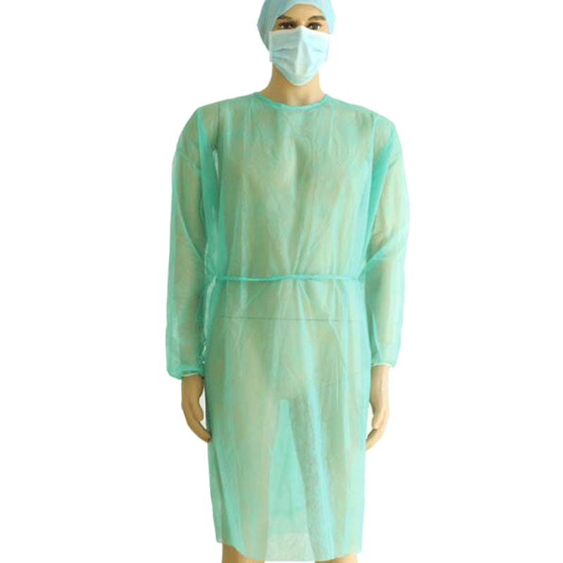 2018 Hot 1PCS Disposable Medical Clean Laboratory Isolation Cover Gown Surgical Clothes For Microblading Makeup Accesories