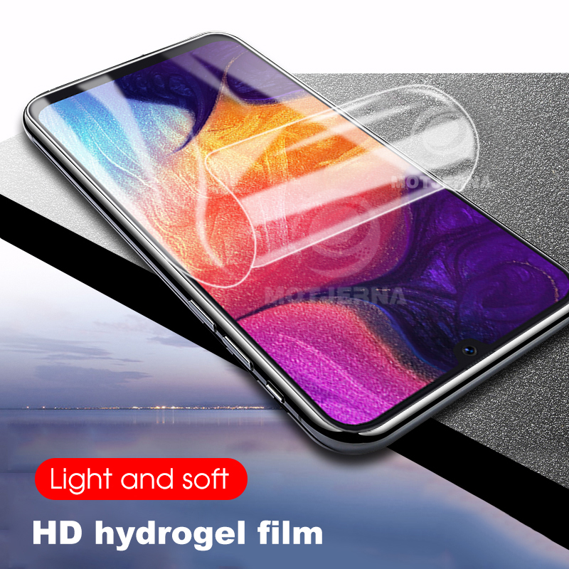 2PCS/lot Hydrogel Film For Samsung Galaxy A50 A30 S A50S A30S A10 A20 Screen Protective Not Glass Soft Film A 30 50 S 30S 50S