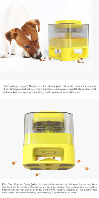 Interactive Pets Training Feeder For Puppies 3