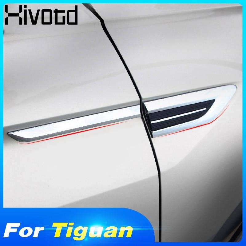 Hivotd For VW Tiguan 2019 2018 mk2 4 Motion 4Motion 4X4 Car original Side Wing Fender Door Emblem Badge Sticker Trim Accessories|Chromium Styling|   - title=