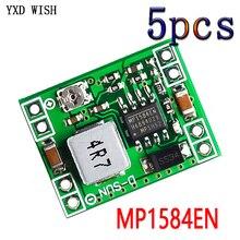 5 adet MP1584 EN Ultra küçük boyutlu DC-DC adım aşağı güç kaynağı modülü 3A ayarlanabilir adım aşağı modülü süper LM2596 24V 12V 9V 5V 3V